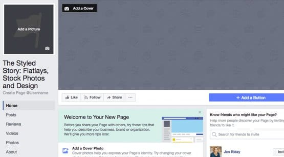 Brand New Facebook Page