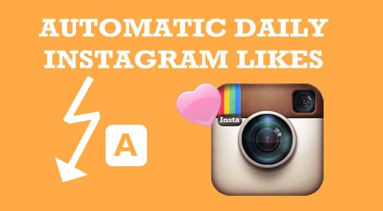 Automatic Likes on Instagram