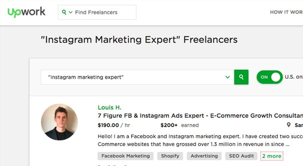 Researching Instagram Experts
