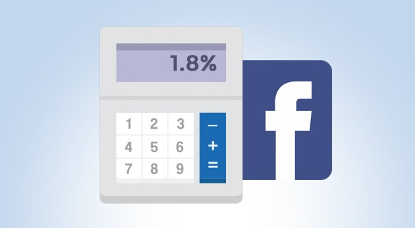Calculate Engagement Rate Facebook Illustration