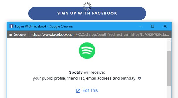 Facebook What is oAuth
