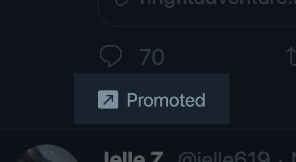 Promoted Content on Twitter